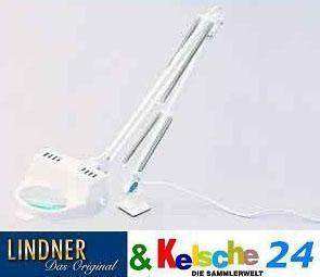LINDNER Arbeitsklemm-Leuchtlupe mit Scherenarm 7141