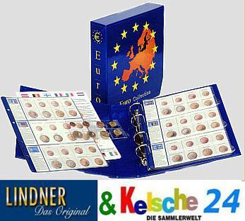 LINDNER EURO Collection Ringbinder+Kassette, leer 8