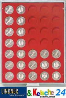 LINDNER MÜNZBOXEN Münzbox 35 x 32,5 mm 10 EURO 10 DM 200 Euro Gold Münzen Standard 2111