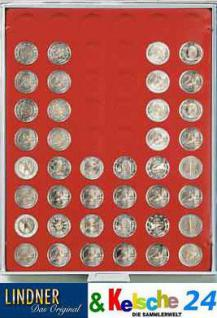 LINDNER 2154 MÜNZBOXEN Münzbox Münzenboxen 54 x 2 EURO Münzen Standard - Vorschau