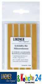 LINDNER 2188 Schildfix Beschriftungsset Etiketten für Münzboxen Sammelboxen D Boxen Kassetten