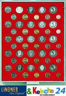 LINDNER MÜNZBOXEN Münzbox 5 DM Kursmünzen KMS Sätze Standard 2207 - Vorschau