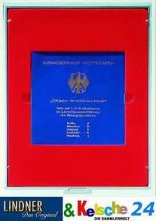 LINDNER MÜNZBOXEN Münzbox Set 5 x 10 DM Gedenkmünzen Satz PP eingeschweist Rauchglas 2611 - Vorschau