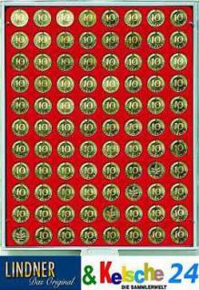 LINDNER Münzbox Münzboxen 5 EURO Cent / 10 Pfennige Standard 2510