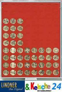 LINDNER Münzbox Münzboxen für 20 EURO Cent Standard 2580