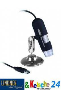 LINDNER 7155-V5 USB Digital Mikroskop Lupe Version V5 20 - 200 fache Vergrößerung