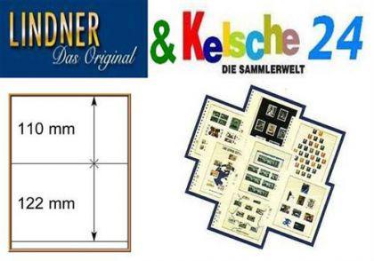 LINDNER T-Blanko-Blätter m. 2 Streifen 10er Pack 80 - Vorschau