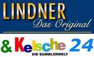 2 x LINDNER EURO-Taschenbuch 1 Euro-KMS Zypern 8459