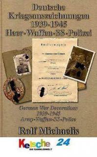 Dt. Kriegsauszeichnungen 1939-45 Heer Waffen-SS Pol