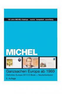 Michel Ganzsachen Katalog Europa bis 1960 Östliches Europa Teil 2 - 2013 + GRATIS ETB PORTOFREI in Deutschland