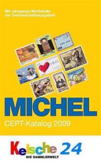 Michel EUROPA Union Katalog CEPT 2009 + Bonus NEU - Vorschau