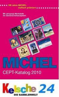 MICHEL EUROPA UNION CEPT Katalog 2010 + Bonus ETB N
