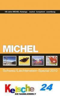 MICHEL Schweiz Liechtenstein mit Ganz. 2010 + ETB B