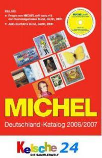 Michel Deutschland Katalog 2006/2007 - 72% REDUZIER