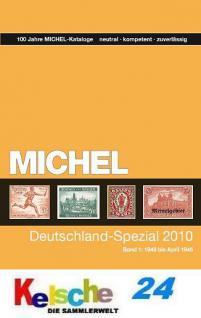 Michel Deutschland Spezial Katalog Band 1 2010 + Bo
