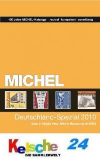 Michel Deutschland Spezial Katalog Bd. 2 2010 + Bon