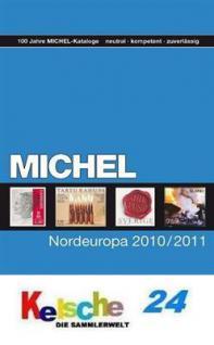 Michel Nordeuropa Breifmarken 2010/11 Bd 5 + BONUS