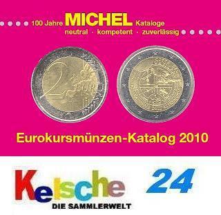 Michel Eurokursmünzen Katalog EURO 2010 Druckfrisch - Vorschau