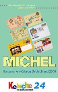 Michel Deutschland Ganzsachen 2009 + Bonus PORTOFR