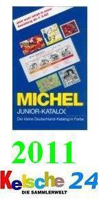 Michel Junior Deutschland Briefmarken Katalog 2011