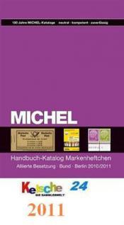 MICHEL MARKENHEFTCHEN Alliierte Bund Berlin 2010 /