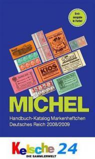 Michel Markenheftchen Deutsches Reich 2008/2009 + B