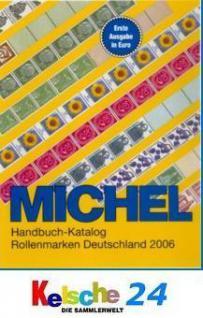 MICHEL Katalog Rollenmarken Deutschland 2006 + BONU - Vorschau