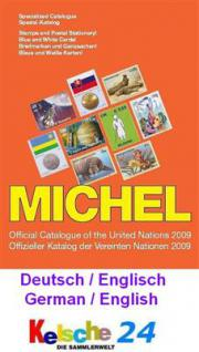 Michel UNO United Nations Catalogue engl. ed 2009 -