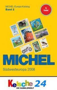 Michel Südwesteuropa 2008 Band 2 + Bonus ETB FREIHA