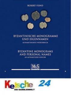 Gietl M & S Edition Byzantinische Monogramme und Eigennamen Lexikon Alphabetisiertes Wörterbuch / Alphabetized lexicon - Robert Feind - 1. Auflage 2010 PORTOFREI in Deutschland - Vorschau 1
