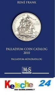 Gietl M & S Edition Palladium Coin Catalog Welt - Münzkatalog 2. Auflage Rene Frank 2010 - PORTOFREI in Deutschland