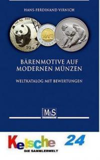 Gietl M & S Edition Bärenmotive Bären auf modernen Munzen Weltkatalog mit Bewertungen Münzkatalog 1. Auflage Hans-Fedinand Virnich - 2010 PORTOFREI in Deutschland
