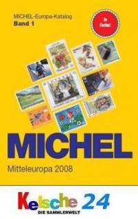 Michel Mitteleuropa 2008 Band 1 + Bonus ETB FREIHAU