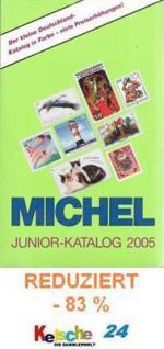 Michel Junior Deutschland Kat. Briefmarken 2005 -