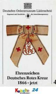 Scherneit Ehrenzeichen Deutsches Rotes Kreuz 1866-j