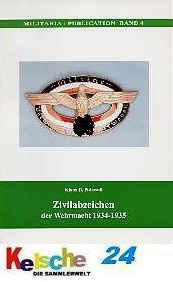 PATZWALL Zivilabzeichen der Wehrmacht 1934-1935 NEU - Vorschau
