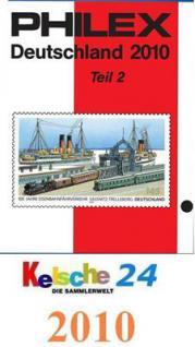 Philex Deutschland Katalog Teil 2 ohne DDR SBZ 2010