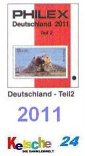 Philex Deutschland Katalog Teil 2 ohne DDR SBZ 2011