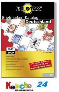 PHILOTAX Deutschland 1849 - 2009 4. Auflage UPDATE