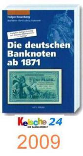 Rosenberg Banknoten Papiergeld Katalog 2009 + Bonus