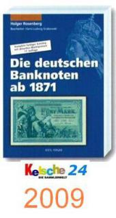 Rosenberg Geldschein Katalog 17.Aufl. 2009 + Bonus