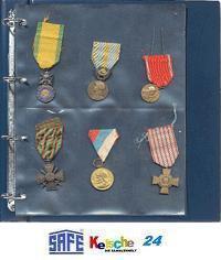 10 SAFE 5472 Compact A4 Einsteckblätter Ergänzungsblätter Hüllen Spezialblätter Orden Ehrenzeichen Militaria