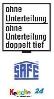 SAFE 6101 BEBA SCHUBLADEN Schuber ohne Einteilung - Große Münzen Medaillen und SAFE Münzschächtelchen für Maxi Münzkasten