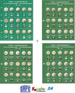 4 x 2 EURO SAFE 7341 Premium VORDRUCKBLÄTTER 2004-2