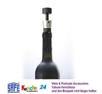 SAFE Wein Portwein Vakumverschluss Vakumverschluß -