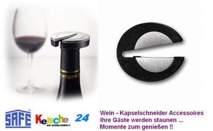 SAFE Wein & Portwein Kapselschneider Accessoires -