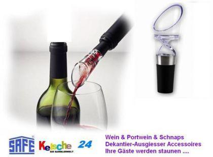 SAFE Wein & Portwein & Schnaps Dekantierausgiesser