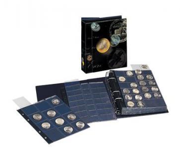 SAFE 7811 Coin Compact Münzalbum Artline mit 4 Münzhüllen Ergänzungsblättern 7812, 7813, 7814, 7815 + 4 Zwischenblättern