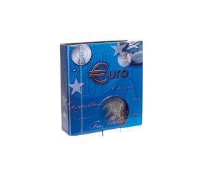 SAFE 7824 TOPset Münzalbum Ringbinder EUROMÜNZEN 2 - 10 Euro Gedenkmünzen - KMS Kurmünzensätze - Für Münzen zum eindrücken (leer)