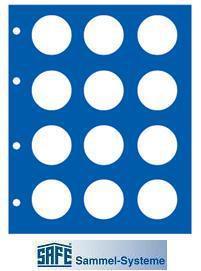 1 x SAFE 7302-10 TOPset Münzblätter Ergänzungsblätter Münzhüllen mit farbigem Vordruckblatt für 2 Euromünzen Gedenkmünzen in Münzkapseln 26 - 2012 - Vorschau 5